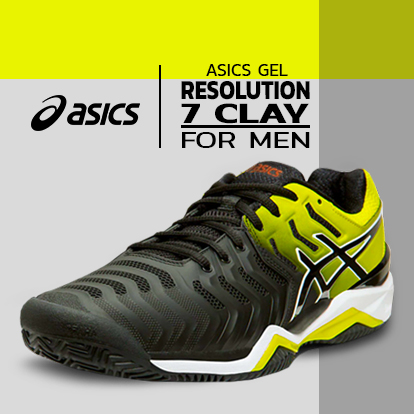 Tênis Asics Gel Resolution 7 Clay