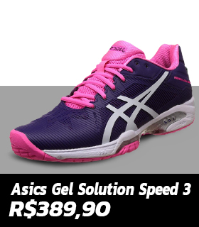 Tênis Asics Gel Solution Speed 3 - Feminino