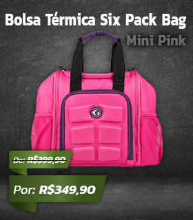 Bolsa Térmica Six Pack Bag Innovator Mini Pink - Rosa