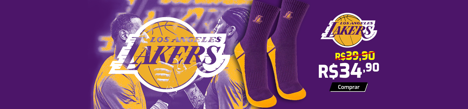 Meias Lakers