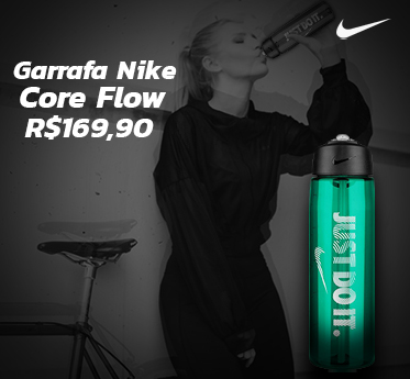 Garrafa Nike Core Flow Just Do It Média Verde